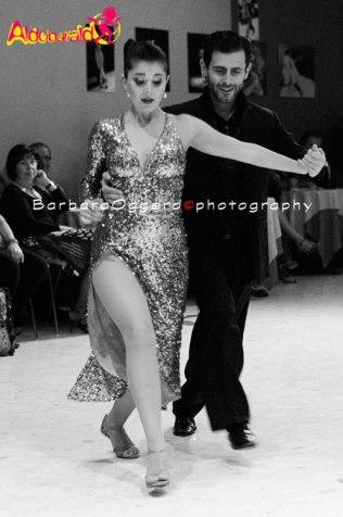 Aldobaraldo Sol Cerquides y Fernando Gracia fotografia tango esibizione show Barbara Oggero