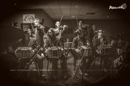 La Juan D'Arienzo Orquesta Barbara Oggero fotografia Tango