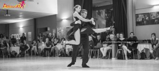 Soledad Mallo y Adriel Bournissen aldobaraldo esibizione tango milonga barbara oggero fotografia