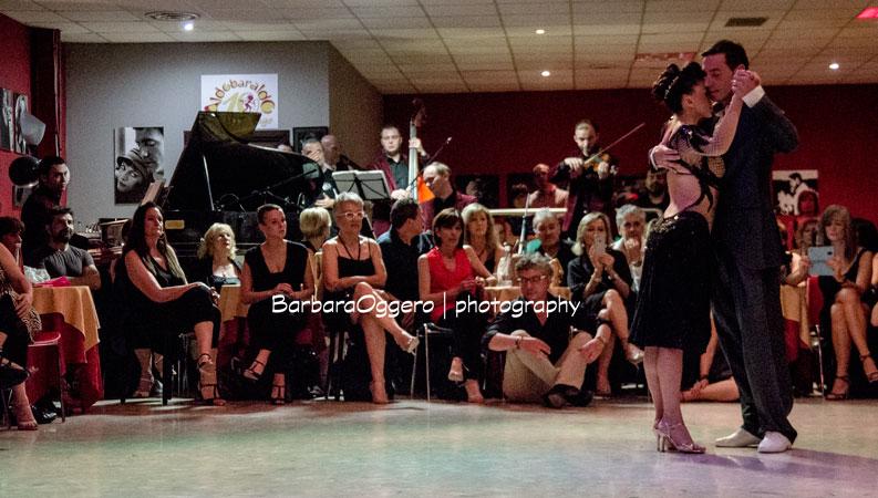 Barbara Oggero fotografia Solo Tango Orquesta Aldobaraldo Torino concerto milonga esibizione Selva Mastroti y Marcelo Ramer