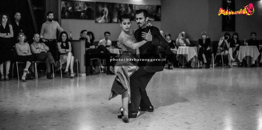 esibizione tango Sol Cerquides y Fernando Gracia Aldobaraldo Torino Barbara Oggero fotografia