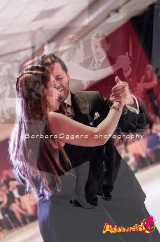 Oscar Gauna y Cecilia Diaz