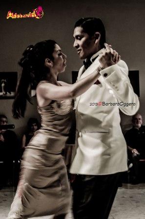 Hernan Rodriguez y Florencia Labiano