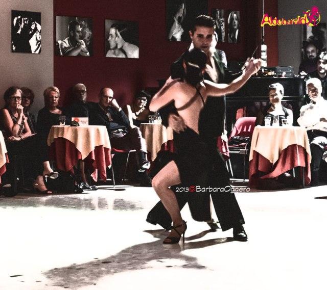 Adrian Aragon y Erika Boaglio Torino Aldobaraldo esibizione Barbara Oggero fotografia