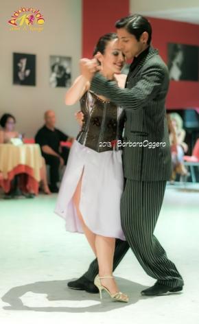 Celeste Rey y Sebastian Nieva