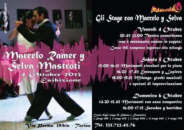 Marcelo Ramer y Selva Mastroti