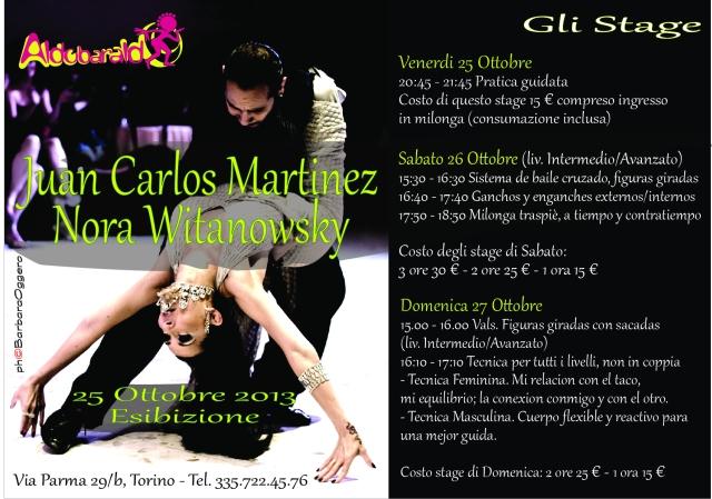 Nora Witanowsky y Juan Carlos Martinez
