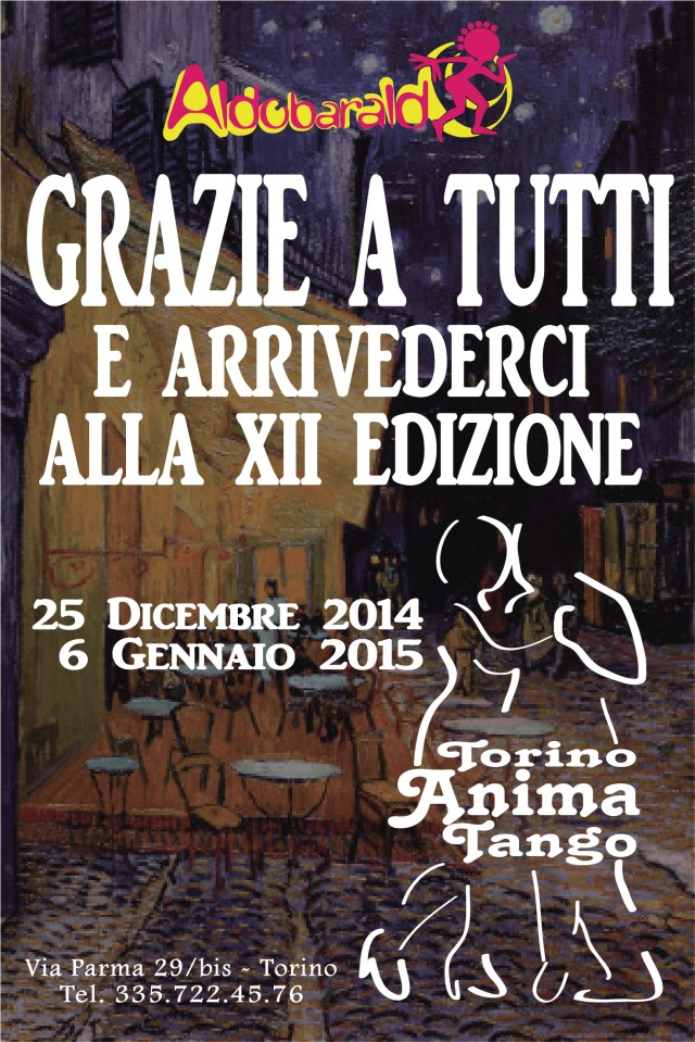 In attesa della prossima edizione di Torino anima Tango