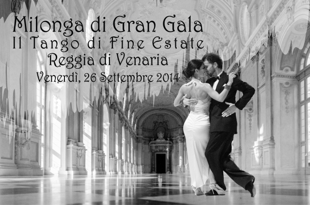 Tango alla reggia di Venaria a Torino