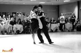 Malika Pitou Nicolier y Haris Mihail XIII Torino Anima Tango festival