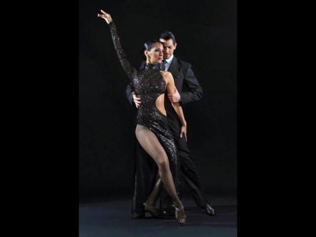 Analia Morales y Gabriel Ponce Aldobaraldo Torino esibizione stage