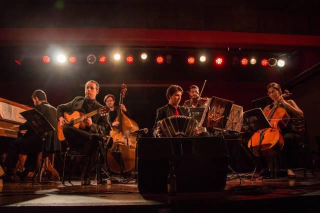 Sexteto Visceral Aldobaraldo musica dal vivo milonga tango