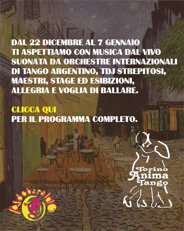TORINO ANIMA TANGO 15 EDIZIONE ALDOBARALDO MUSICA DAL VIVO MILONGA ORCHESTRE STAGE ESIBIZIONI TDJ