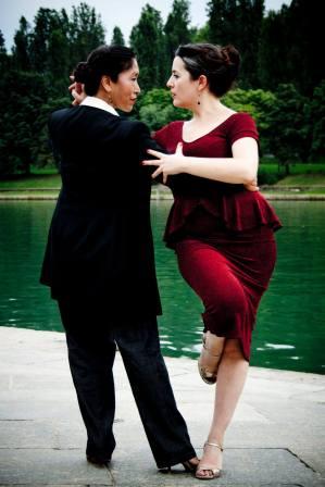 Makiko Mori e Piera Conte