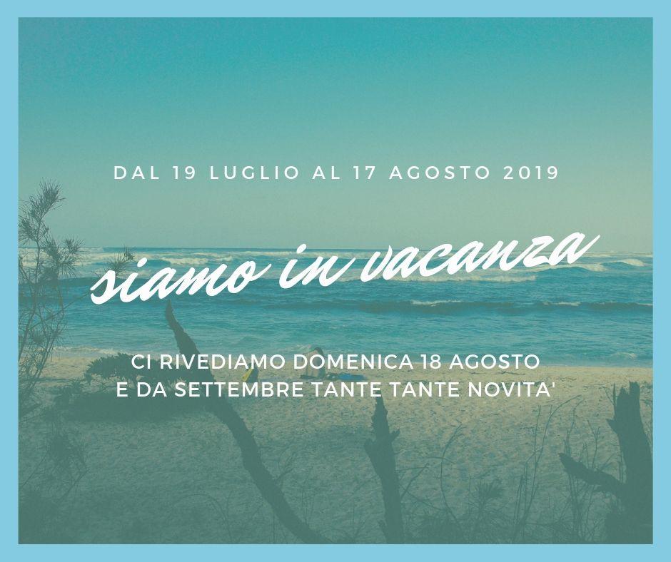 Calendario Luglio Agosto.Calendario Luglio Agosto 2019